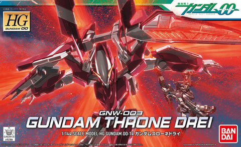 High Grade 00 1/144 - 14 Gundam Throne Drei
