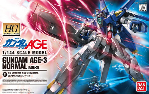 High Grade Gundam Age 1/144 - 21 Gundam Age-3 Normal