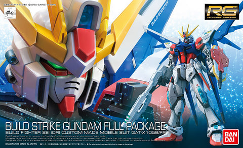 Real Grade 1/144 - RG-23 Build Strike Gundam Full Package