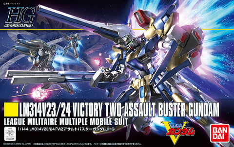 HGUC 1/144 - 189 LM314V23/24 Victory Two Assault Buster Gundam