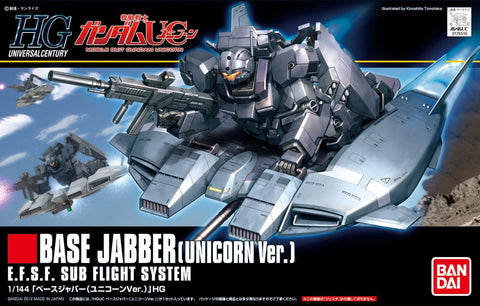 HGUC 1/144 - 144 Base Jabber (Unicron Version)