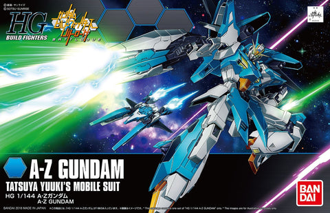 High Grade Build Fighters 1/144 - A-Z Gundam