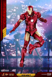 Hot Toys - Iron Man 2 - Iron Man Mark IV Diecast Movie Masterpiece with Suit-Up Gantry