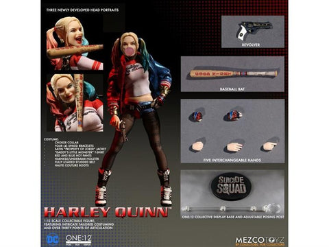 Mezco Toyz - One:12 Suicide Squad Harley Quinn Action Figure