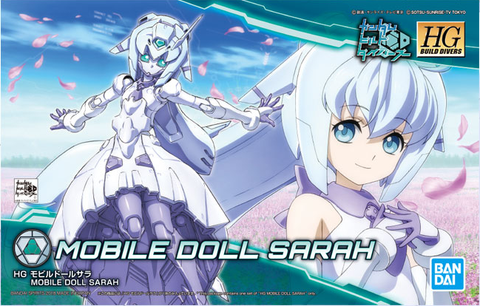 High Grade Build Divers 1/144 - 023 Mobile Doll Sarah