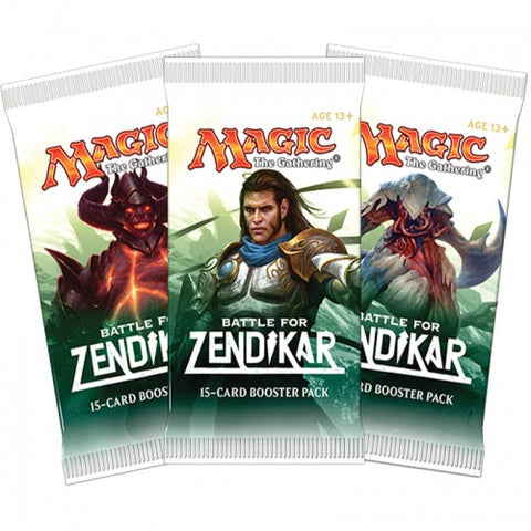 Magic The Gathering - Battle for Zendikar Booster Pack