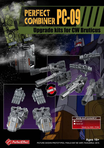 Perfect Effect - PC-09 Perfect Combiner Upgrade Set for Combiner Wars Bruticus