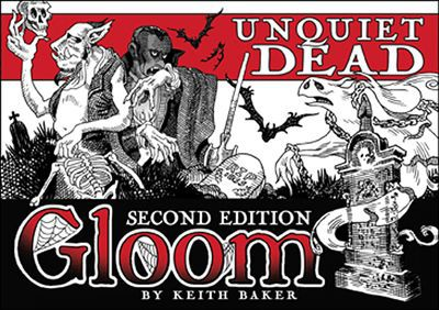 Atlas Games - Gloom 2nd Edition: Unquiet Dead Expansion