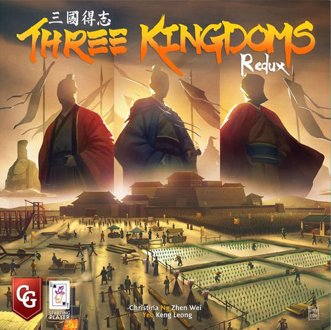 Capstone Games - Three Kingdoms Redux