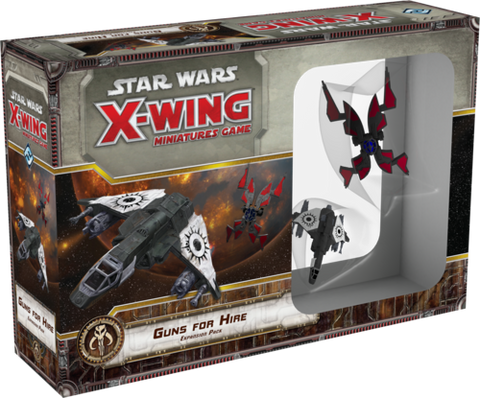 Fantasy Flight Games - X-Wing Miniatures Game Guns For Hire Expansion Pack