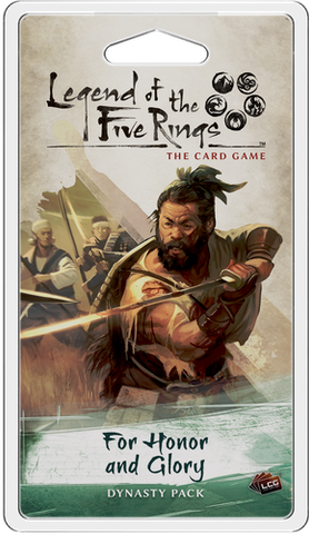 Fantasy Flight Games - Legend of the Five Rings: For Honor and Glory Dynasty Pack