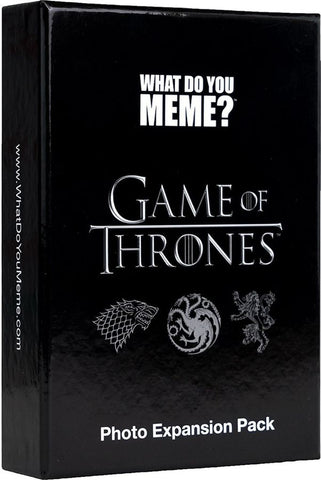 WDYM - What Do You Meme: Game of Thrones Expansion Pack