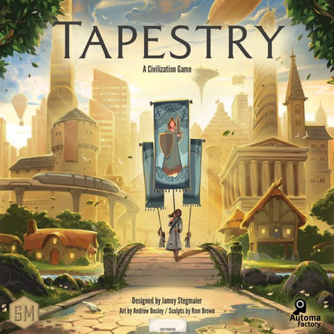 Stonemaier Games - Tapestry