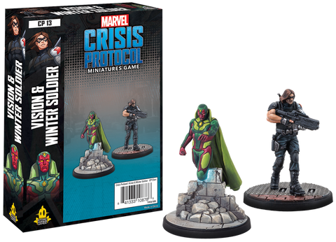 Atomic Mass Games - Marvel Crisis Protocol: Vision and Winter Soldier
