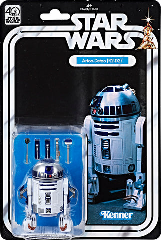 Star Wars the Black Series 40th Anniversary Wave 1 - Artoo-Detoo (R2-D2)
