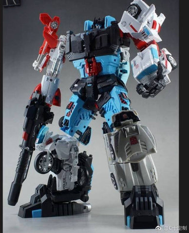 C+ Customs - THC-02J - Unite Warriors Defensor Add-On Set