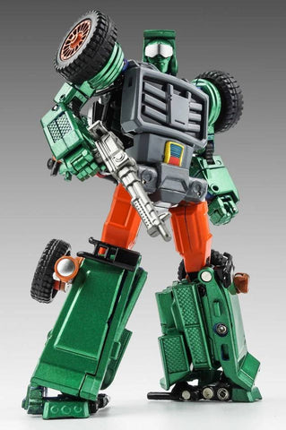 X-Transbots - MM-VIII-G2 Arkose - Green Version Limited Edition