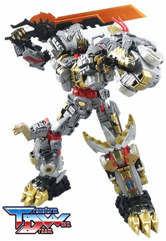 Transform Dream Wave - TCW-06 POTP Dinobots Add-On Set