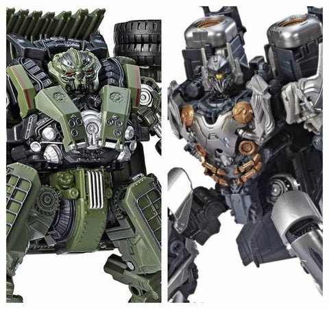Transformers Generations Studio Series - Voyager Wave 7- Set of 2