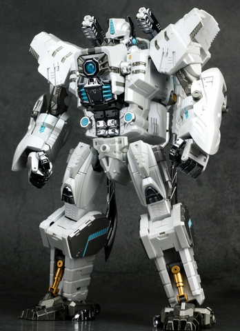 Generation Toy - GT-10A Gorilla Chrome White Version