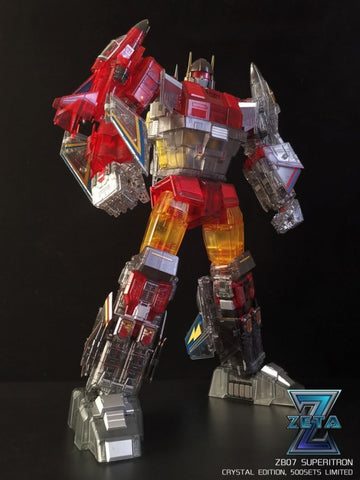 Zeta Toys - ZB-07 Superitron Crystal Edition (Limited)