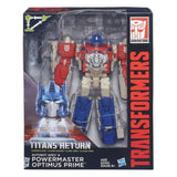 Transformers Generations Titans Return - Leader Class Powermaster Optimus Prime & Blaster (Set of 2)