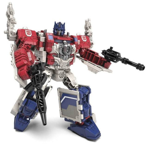 Transformers Generations Titans Return - Leader Class Powermaster Optimus Prime