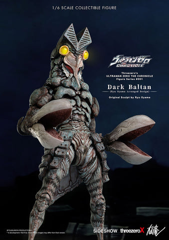 Threezero - Ultraman Zero: The Chronicle - Dark Baltan (Deposit Required)