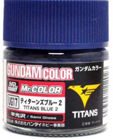 Mr Gundam Color Ug17 - Titans Blue 2