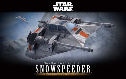 Bandai - Star Wars Model - Snow Speeder Set