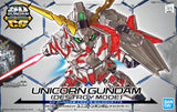 SD Gundam - Cross Silhouette: Unicorn Gundam (Destroy Mode)