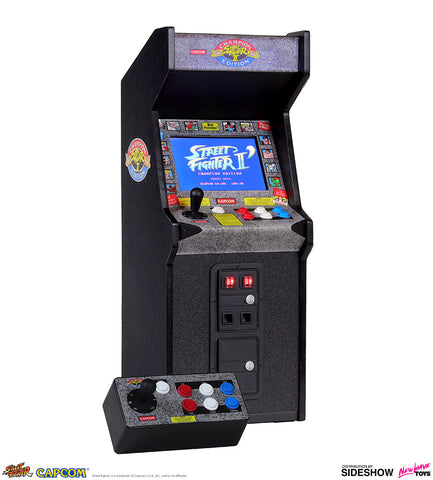 New Wave Toys - Street Fighter II: Champion Edition x RepliCade - Replica Arcade Cabinet