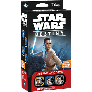 Fantasy Flight Games - Star Wars Destiny Rey Starter Set