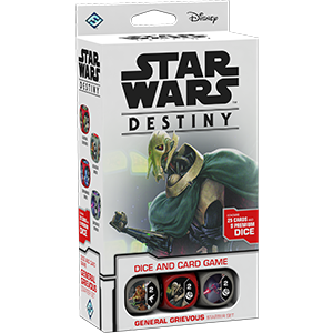 Fantasy Flight Games - Star Wars Destiny: General Grievous Starter Set