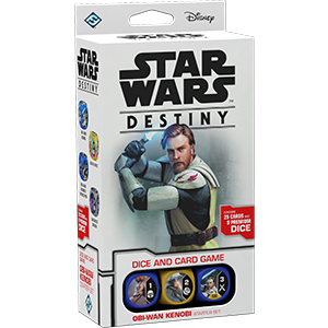 Fantasy Flight Games - Star Wars Destiny: Obi-Wan Kenobi Starter Set