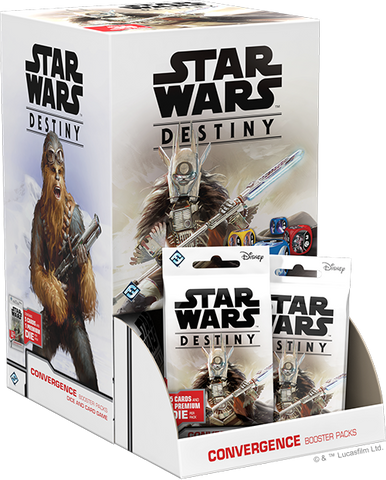 Fantasy Flight Games - Star Wars Destiny: Convergence Booster Box