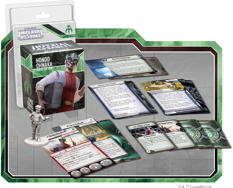 Fantasy Flight Games - Star Wars - Imperial Assault: Hondo Ohnaka Villain Pack