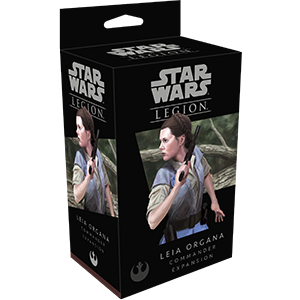 Fantasy Flight Games - Star Wars : Legion - Leia Organa Commander Expansion