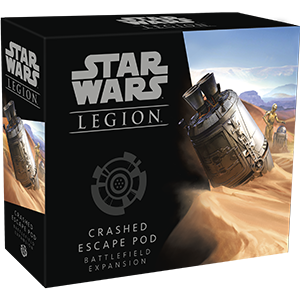 Fantasy Flight Games - Star Wars: Legion - Crashed Escape Pod Battlefield Expansion