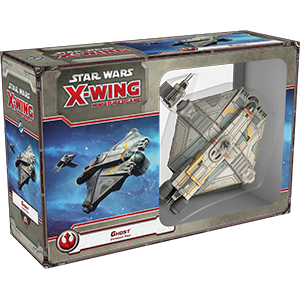 Fantasy Flight Games - X-Wing Miniatures Game Ghost Expansion Pack