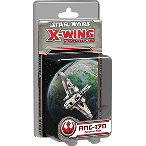 Fantasy Flight Games - X-Wing Miniatures Game ARC-170 Expansion Pack