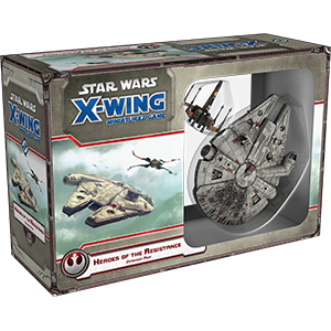 Fantasy Flight Games - X-Wing Miniatures Game Heroes of the Resistance Expansion Pack