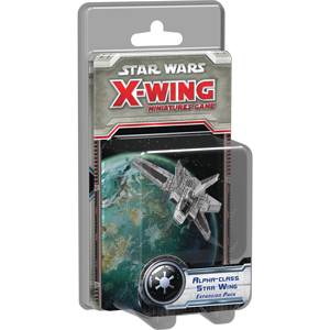 Fantasy Flight Games - X-Wing Miniatures Game Alpha-Class Star Wing Expansion Pack
