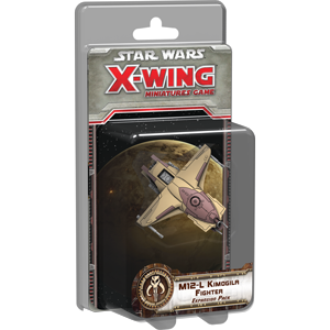 Fantasy Flight Games - X-Wing Miniatures Game M12-L Kimogila Fighter Expansion Pack