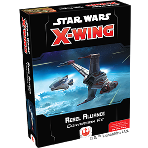 Fantasy Flight Games - X-Wing Miniatures Game 2.0 - Rebel Alliance Conversion Kit
