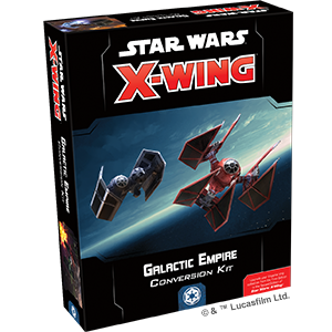Fantasy Flight Games - X-Wing Miniatures Game 2.0 - Galactic Empire Conversion Kit