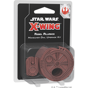 Fantasy Flight Games - X-Wing Miniatures Game 2.0 - Rebel Alliance Maneuver Dial Upgrade Kit