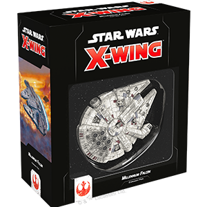 Fantasy Flight Games - X-Wing Miniatures Game 2.0 - Millenium Falcon Expansion Pack