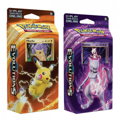 Pokemon TCG - Evolutions Theme Deck