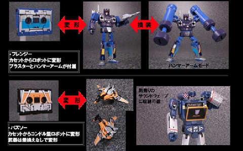 MP-16 Masterpiece Frenzy and Buzzsaw